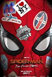 Örümcek Adam: Evden Uzakta / Spider Man Far from Home türkçe dublaj HD İZLE