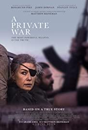 Özel Savaş / A Private War izle