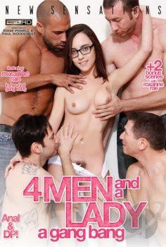 4 Men And A Lady full erotik film izle